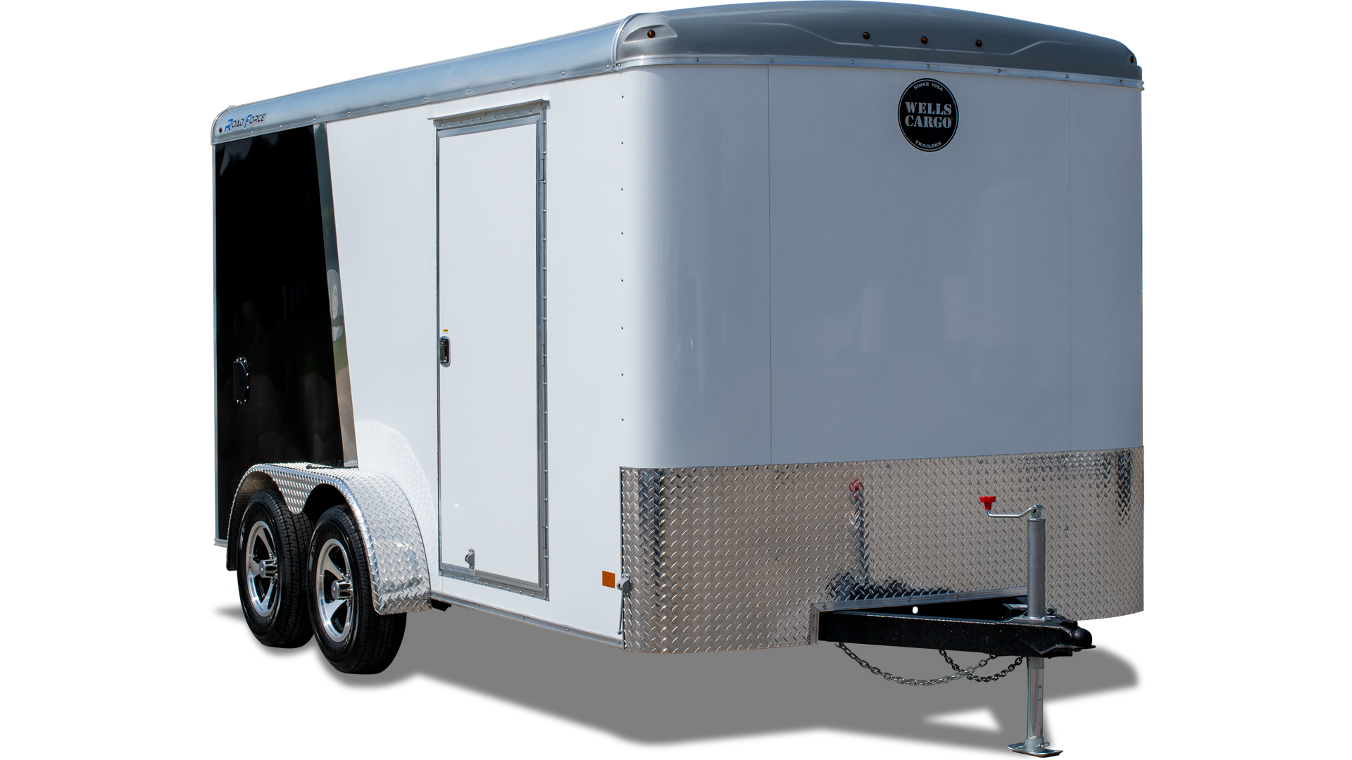 Wells Cargo Gooseneck Trailers Wheel Enclosed Trailer On Utility Wiring Colors Road Force