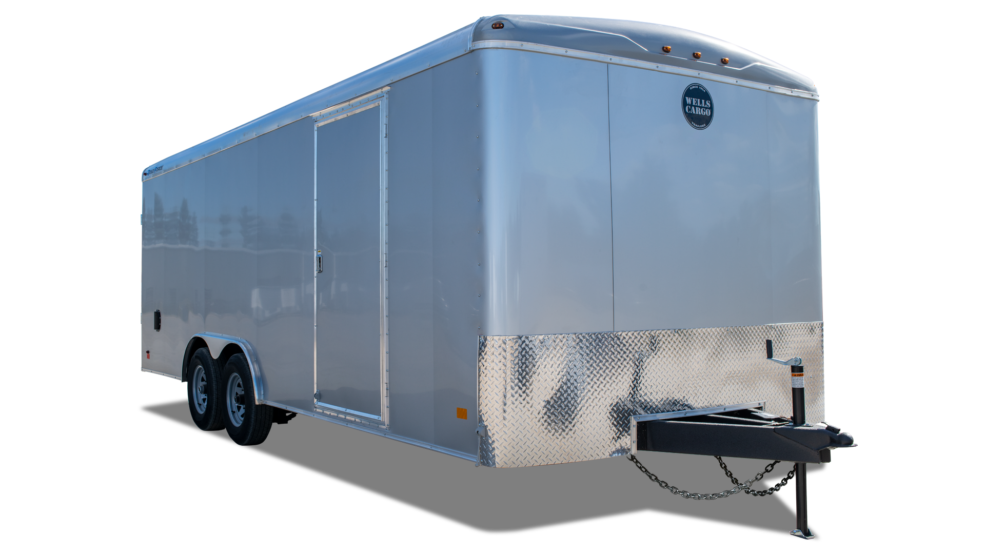 Wells Cargo Gooseneck Trailers Wheel Enclosed Trailer On Utility Wiring Colors Road Force Auto